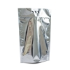 Пакет дой-пак XL Серебристый (глянец)